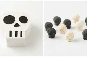 Wasanbon Skull-Shaped Japanese Sugar