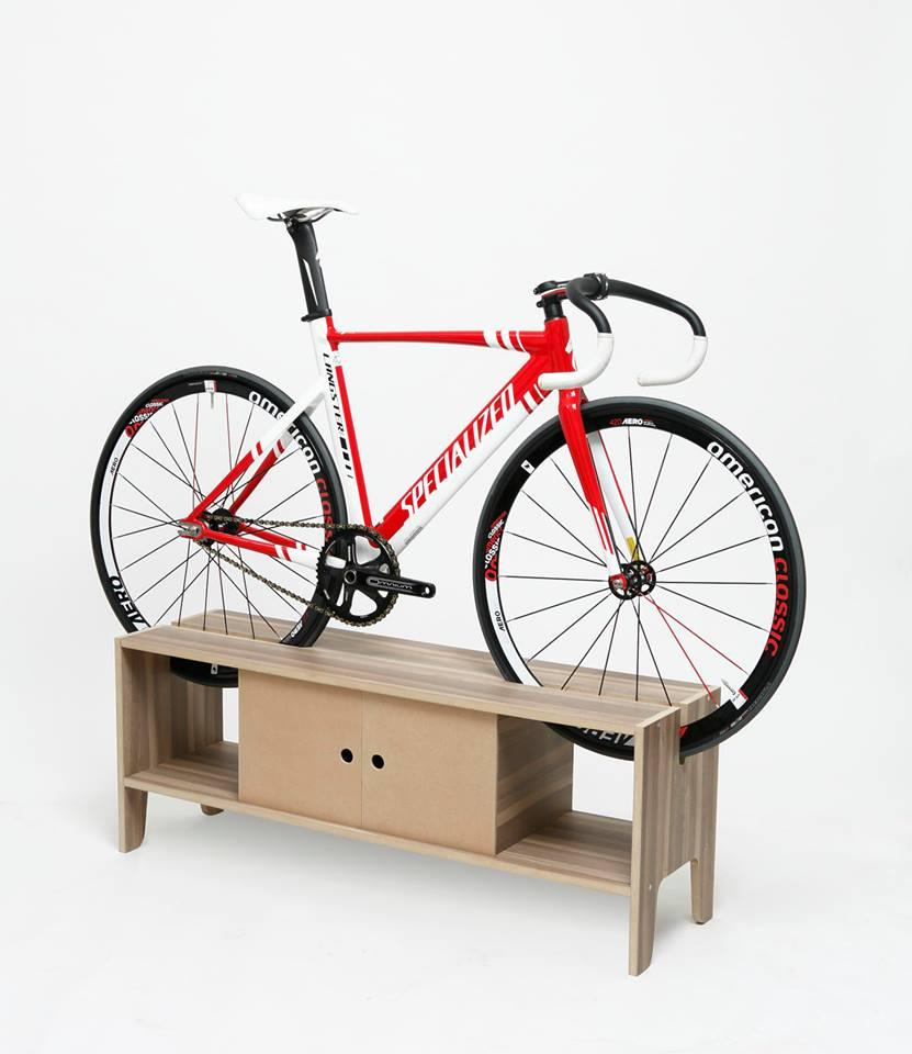 Manuel Rossel Bike Storage Furniture | The Coolector