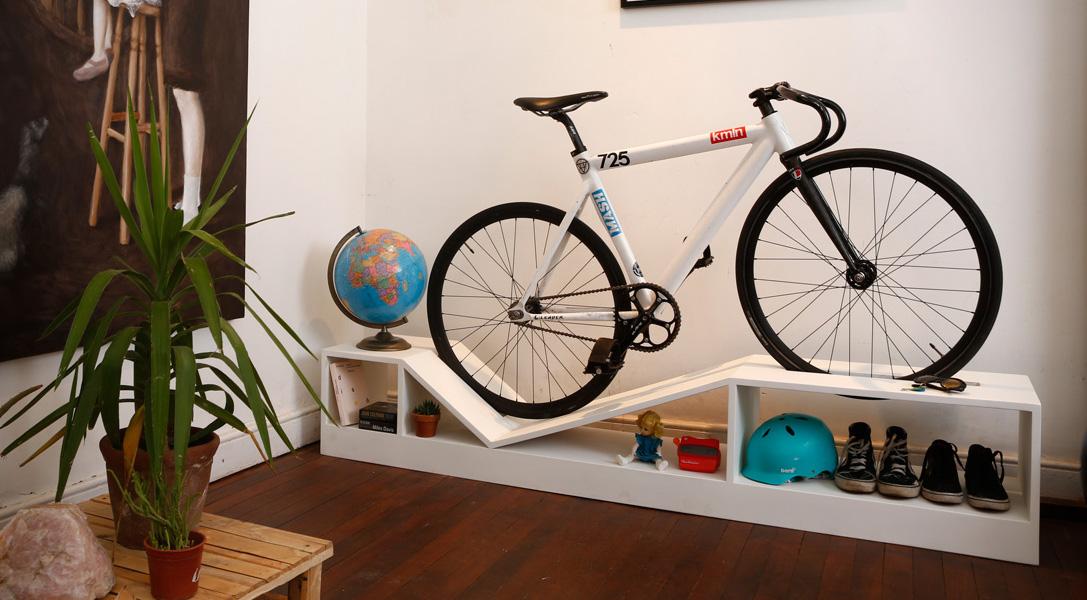 Как хранить велосипед в квартире лайвхаки от дизанера.