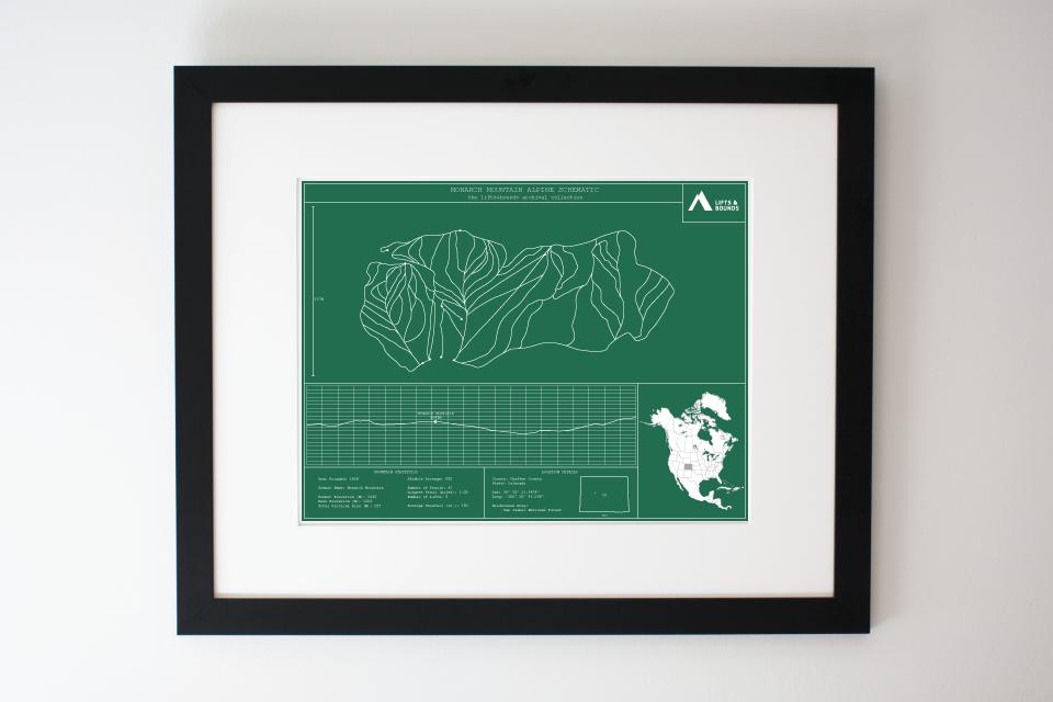 monarch-mountain_alpine-schematic_framed_pine-sapling_1024x1024