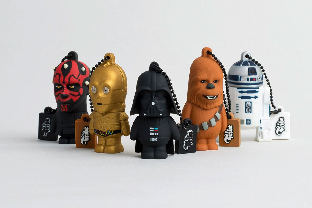 Star wars usb flash drives the coolector for Arbol genealogico star wars