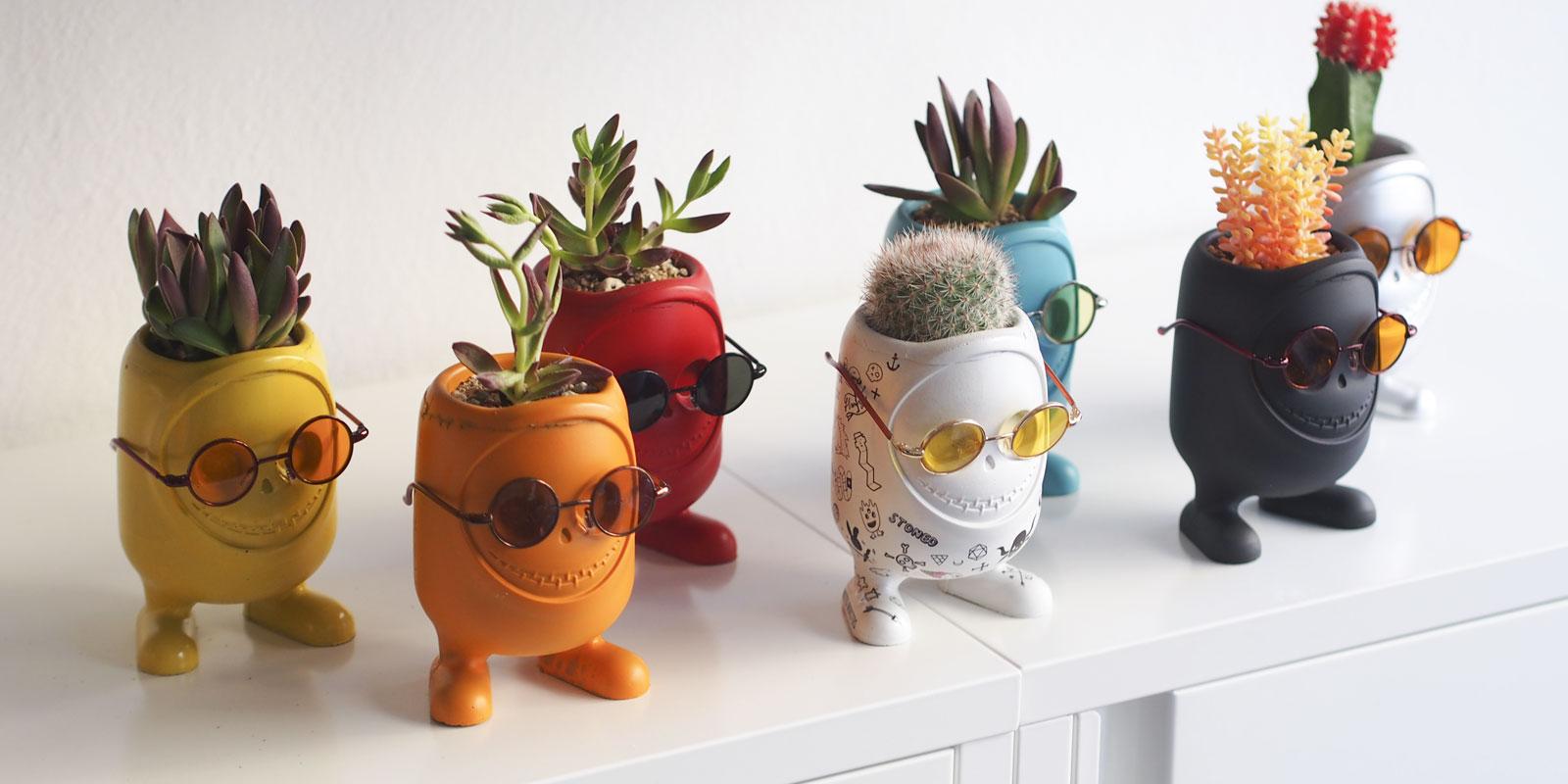 Горшочек для кактуса своими руками