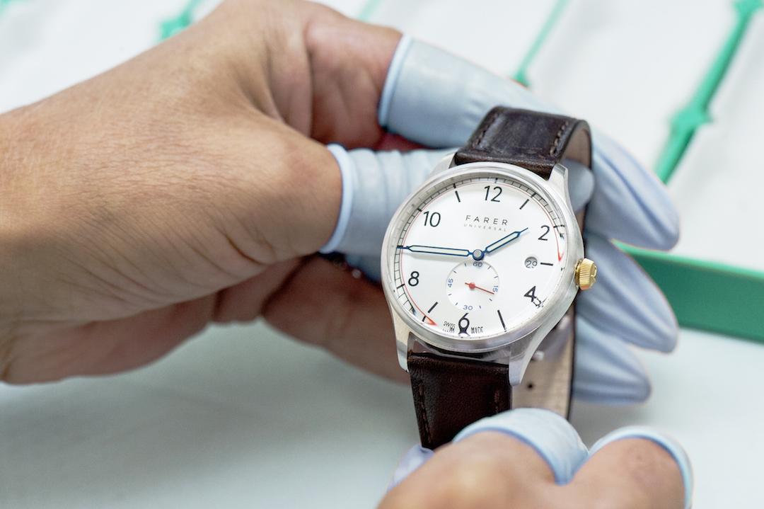Farer Watches. Photo : Lucas Vuitel