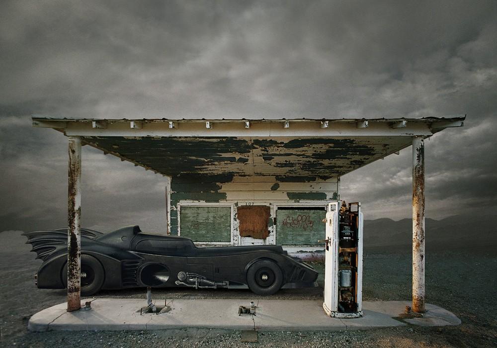 Travis Durden Batman Post Apocalyptic Landscapes The