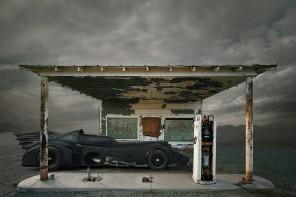 Travis Durden Batman Post Apocalyptic Landscapes