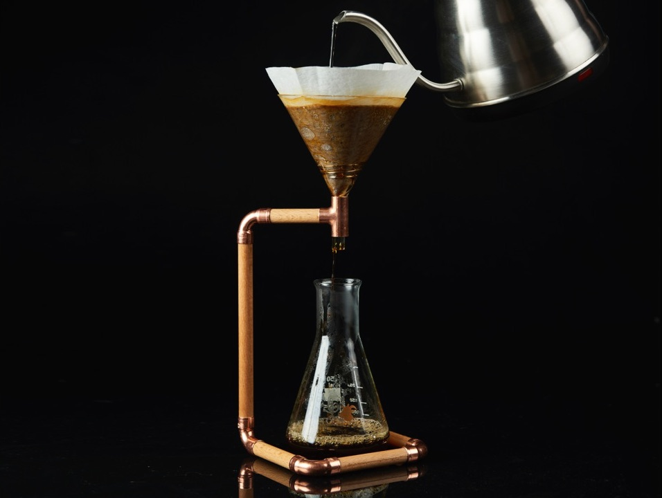 Coffee Maker That Doesnot Drip When Pouring : Goat Story G-Drip Pour Over Coffee Maker The Coolector