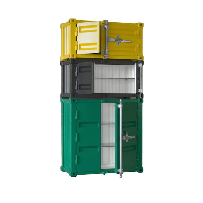 Sander Mulder Pandora Shipping Container Cabinets   The Coolector