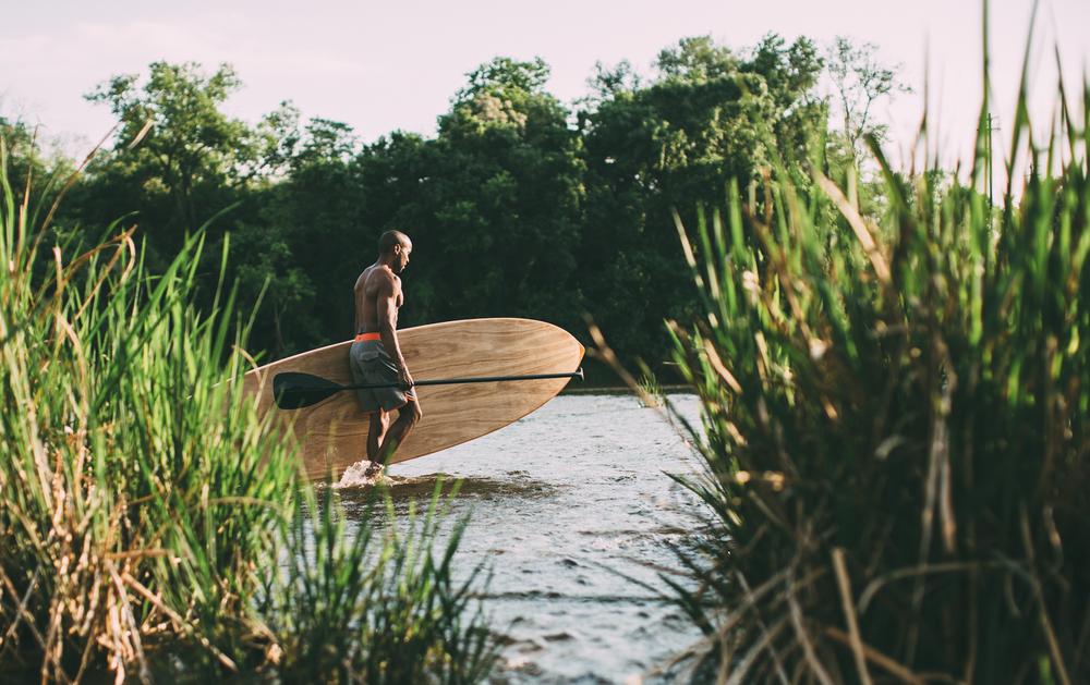 Wood+paddle+board