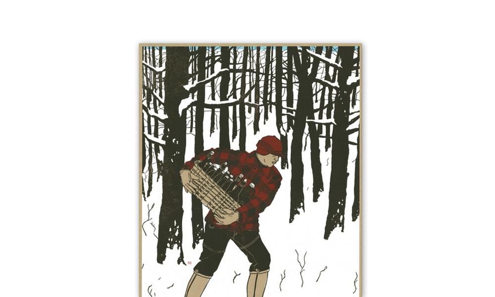 Good Beer Hunting Hunter Gatherer Print | The Coolector