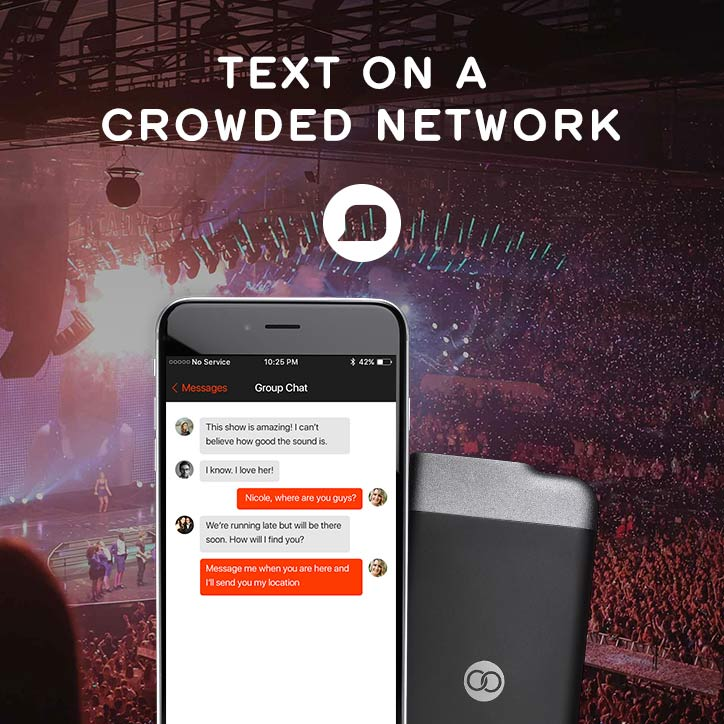 text-on-a-crowded-network