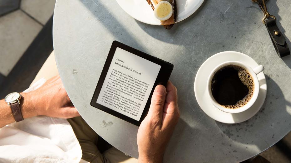 Kindle Vs Sony Reader: Amazon Kindle Oasis