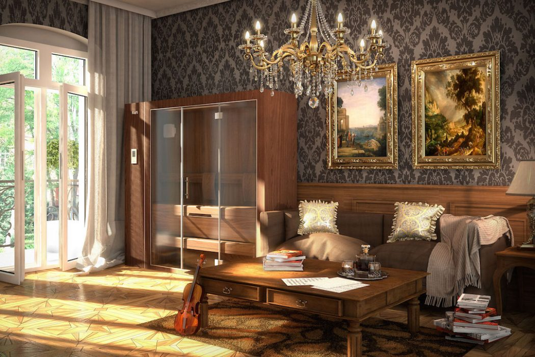 klafs s1 sauna the coolector. Black Bedroom Furniture Sets. Home Design Ideas