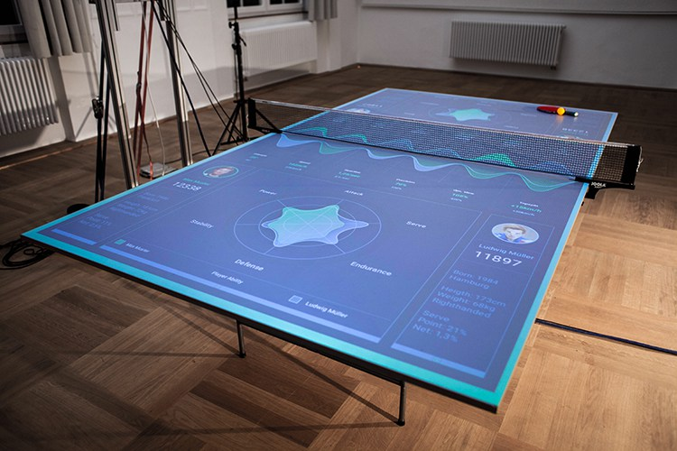Thomas mayer table tennis trainer the coolector - Table basse high tech ...