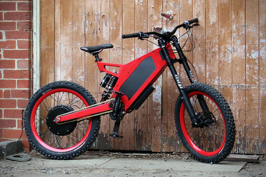 stealth b 52 bomber electric bike the coolector. Black Bedroom Furniture Sets. Home Design Ideas