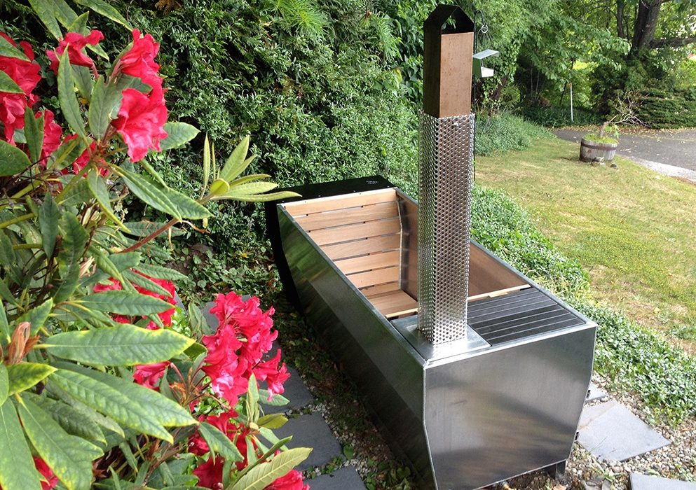 Soak Outdoor Wood Fired Hot Tub The Coolector