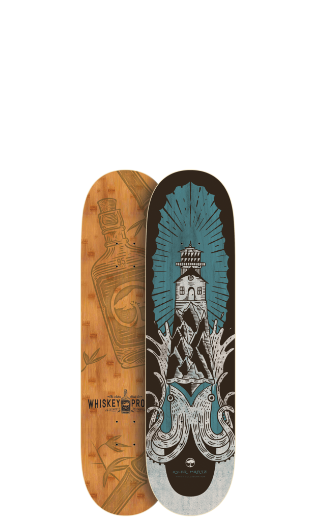 Arbor-Skateboards_Whiskey-Squid-8.25_Whiskey_2016-621x1024