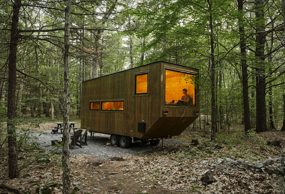 getaway tiny cabins the coolector