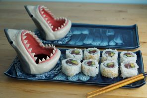 Shark Sushi Plate