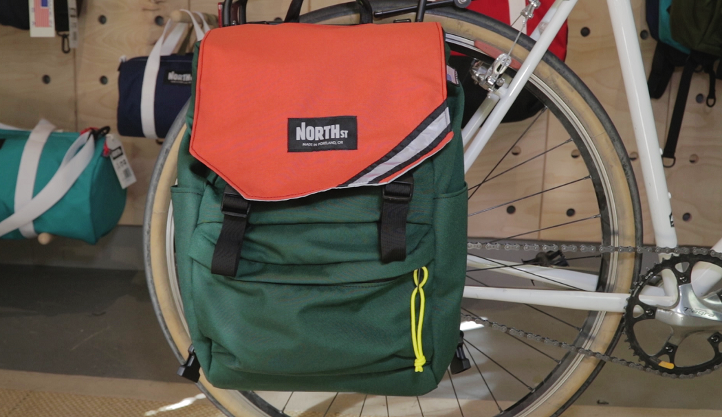 North Street Pannier Backpack The Coolector