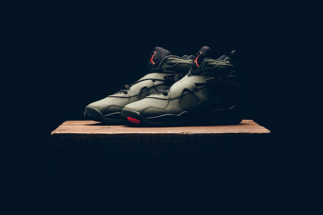 fdab5ed2783 This January sees the release of the Air Jordan VIII retro BG  Take  Flight . Coming in a sequoia green