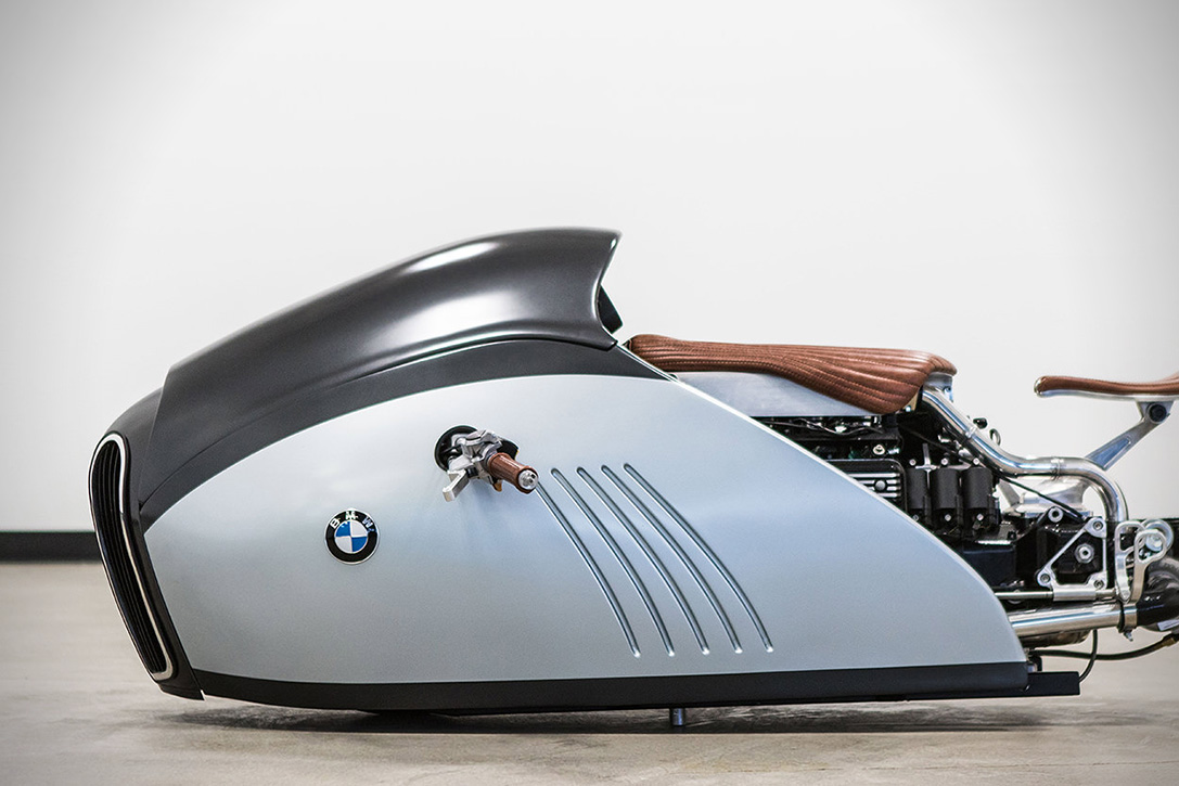 Bmw K75 Alpha Land Speed Racer The Coolector