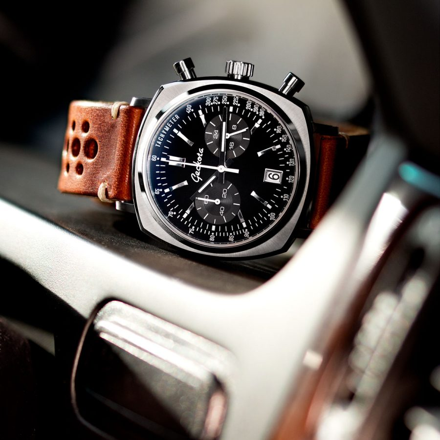 Geckota C1 Racing Chronograph Watch The Coolector