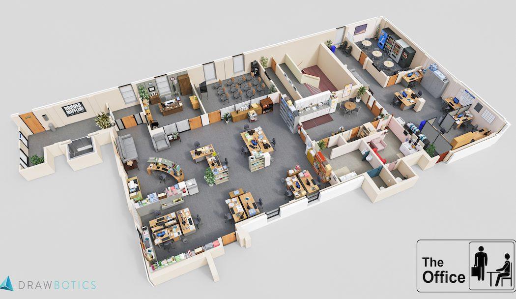 Drawbotics 3D TV Floorplans The Coolector