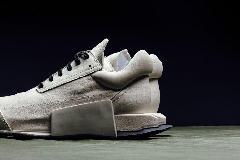 RICK OWENS X Adidas Level Runner Sneaker