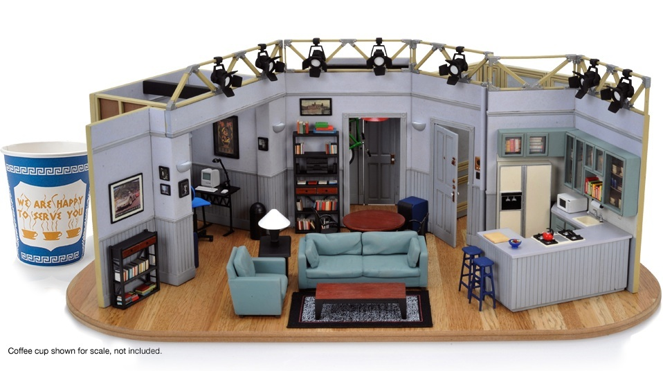 Seinfeld Apartment Model The Coolector