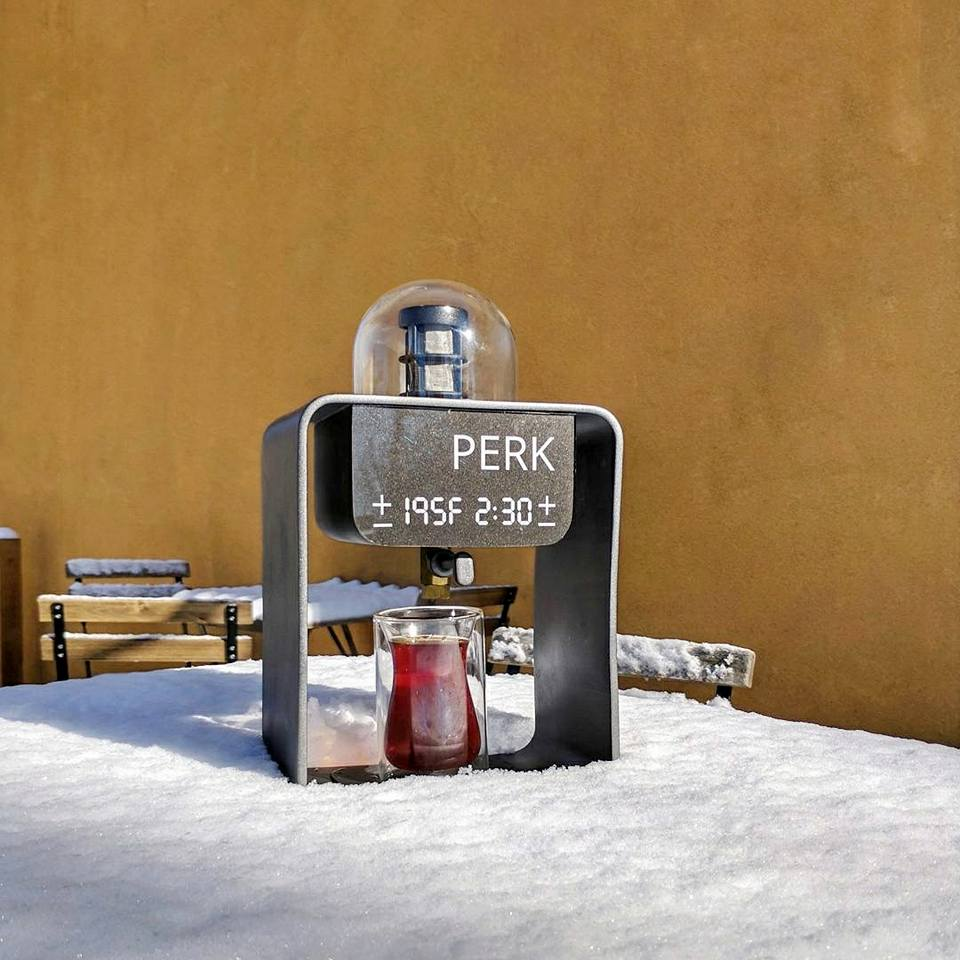 coffee pour machine