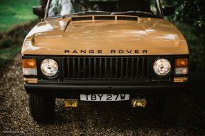 John Holland's 1981 Sandglow Range Rover