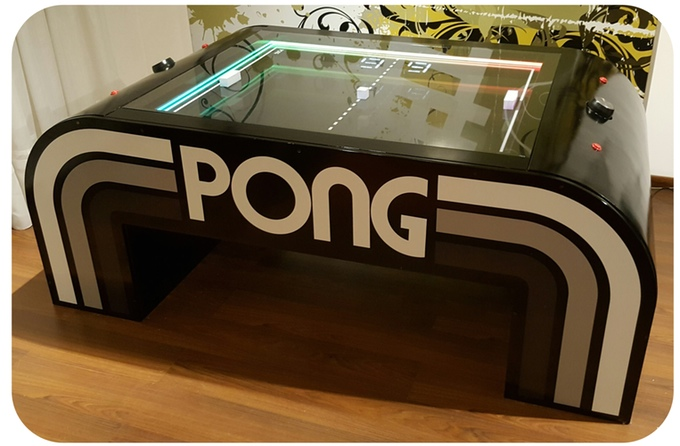 Atari PONG Coffee Table The Coolector - Atari coffee table
