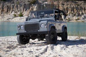 Cool & Vintage Nardo Grey Land Rover D90