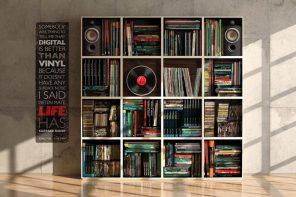 Wheel Vinyl Record Player