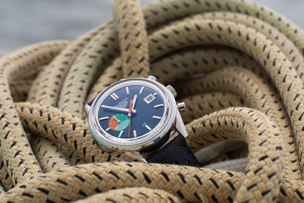 Limited Edition TAG Heuer x Hodinkee Skipper Watch | The Coolector