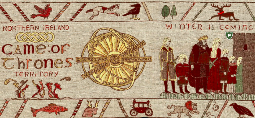 Game Of Thrones Interactive Tapestry The Coolector