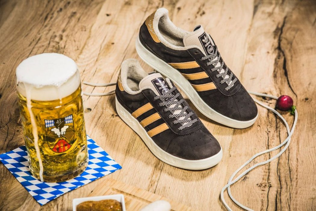 """Adidas München Made in Germany """"Oktoberfest"""" Sneakers 