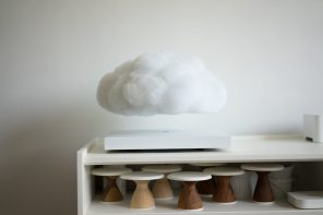 Floating Cloud Levitating LED Lamp