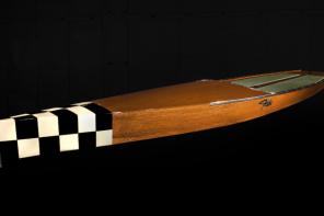 Fitzke Wood Paddle Board