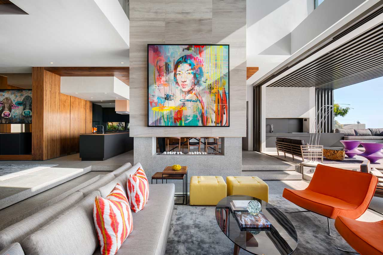 Artistic Interior Design Features Really Add To The Accomplished  Architectural Work Of House Sealion From Greg Wright Architects And There  Are Plenty Of ...