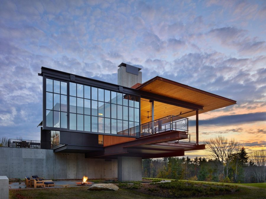Olson Kundig Are A Full Service Design Firm Whose Eye Catching Back Catalogue Of Work Includes Residences Often For Art Collectors Museums And Exhibition