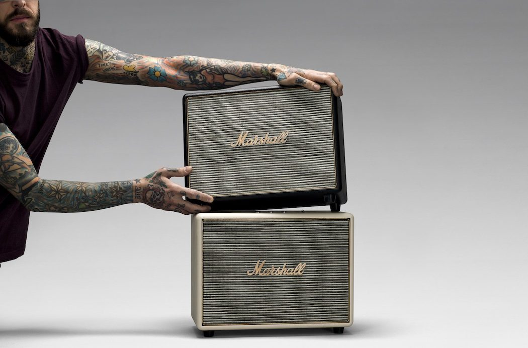 Marshall Woburn Bluetooth Speaker The Coolector