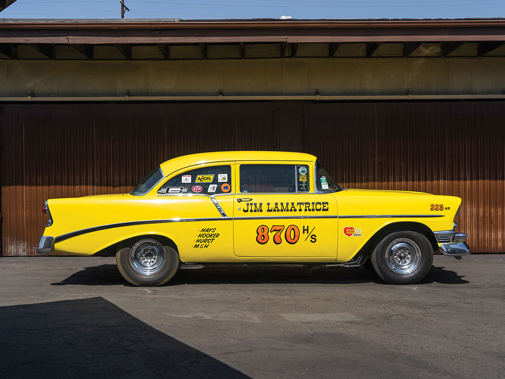 1956 Chevrolet 210 H/Stock Drag Car | The Coolector