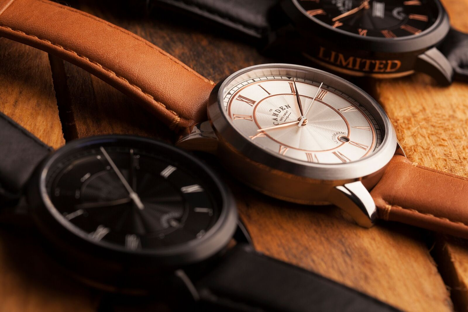 ec2b670b1 The Camden Watch Company No.29 Automatic Watches which are funding on  Kickstarter now take their design inspiration from the industrial history  of the ...