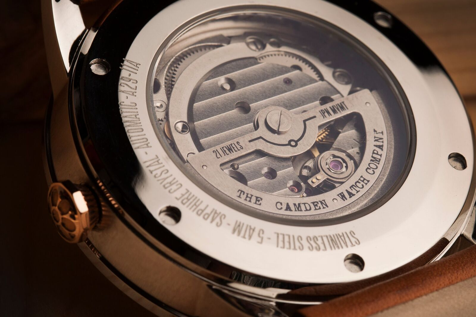 6d854331f ... a vintage style aesthetic appeal, this new Kickstarter campaign from Camden  Watch Company is going to more than fit the bill. The No.29 Automatic Watch  ...