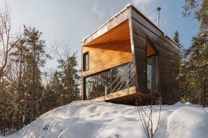 Cabin On A Rock