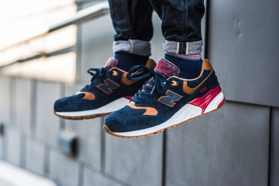 """ce937907ad586 ... devilishly comfortable Sneaker Politics x New Balance """"Case 999""""  Sneakers which are inspired by police detectives and the cases which they  investigate."""