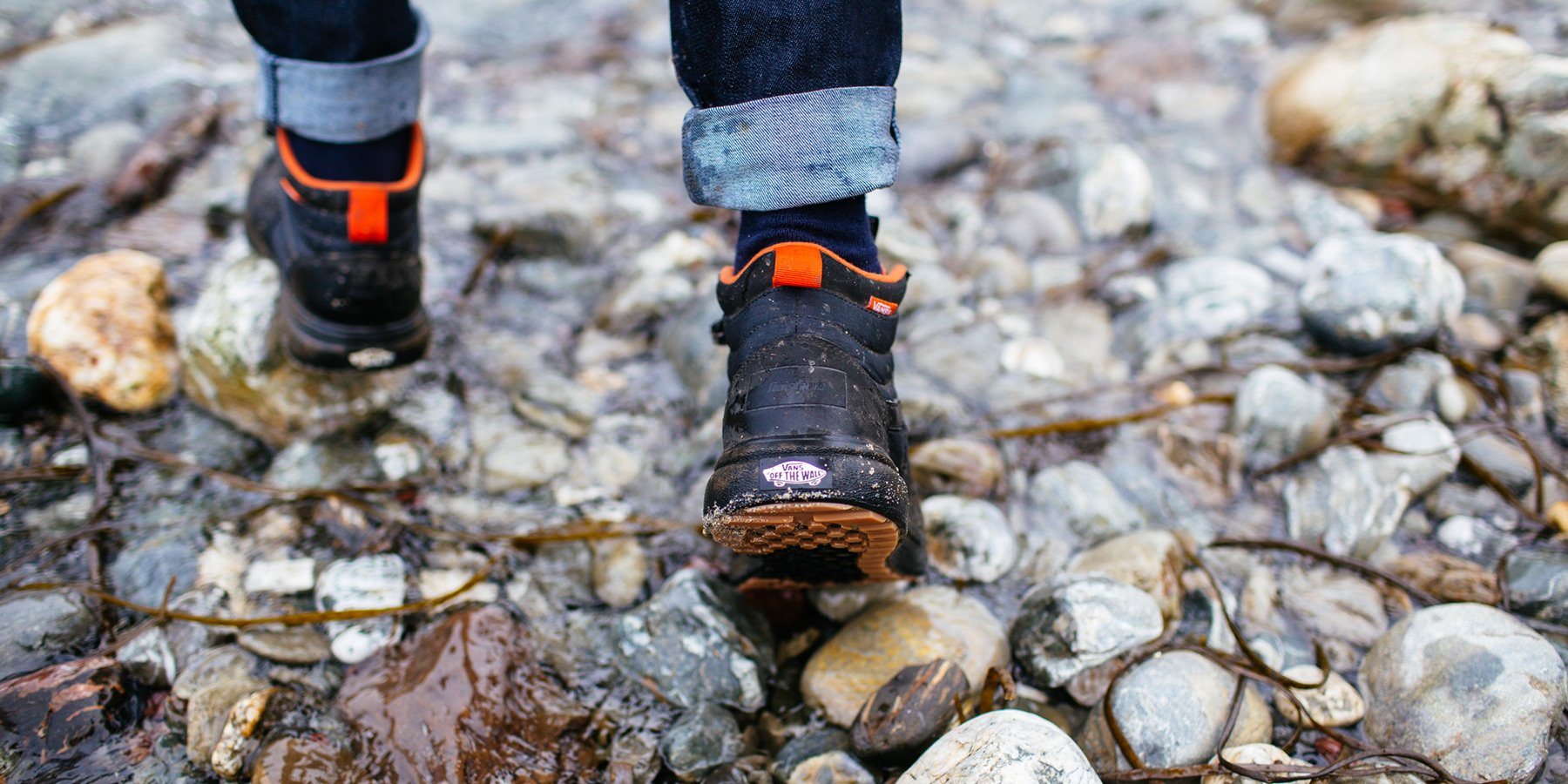 Then the Vans + Finisterre Ultrarange HI MTE are the footwear for you.  Incredibly lightweight and made specifically for adventure whatever the  terrains ... a04e30acd