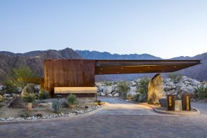 Studio AR&D Architects Desert Palisades Guardhouse