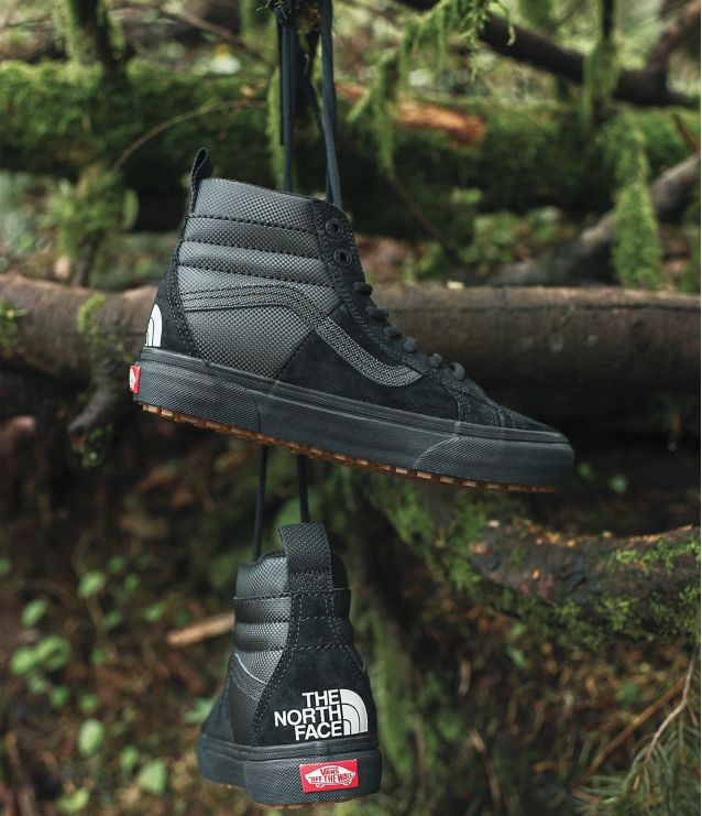 d46e95abd2c Where better place to start than with the top notch footwear collaboration  between the two brands. The great looking Vans x The North Face SK8-HI 46  MTE DX ...